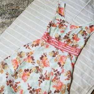 Eshakti Floral A-line Dress